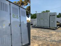 Projects on opposite coasts using Eos's Aurora 2.0 battery system in two different uses cases