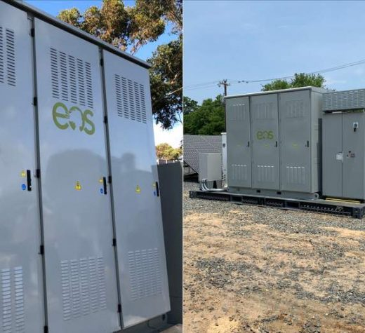 Projects on opposite coasts are using Eos's Aurora 2.0 battery system in two different use cases