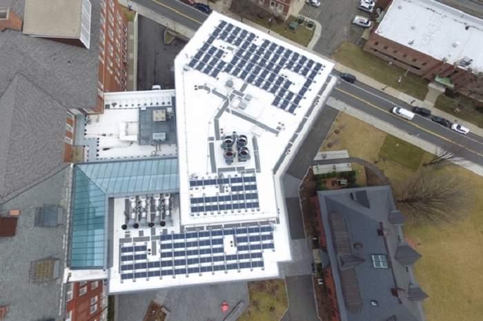 Tufts university solar