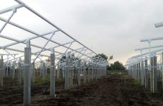Clenergy's PV-ezRack SolarTerrace is a mounting system designed for solar agricultural projects