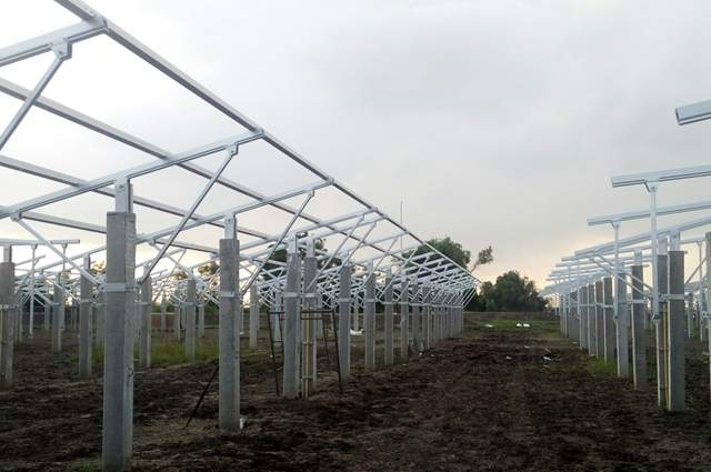 Clenergy solar agricultural mounting