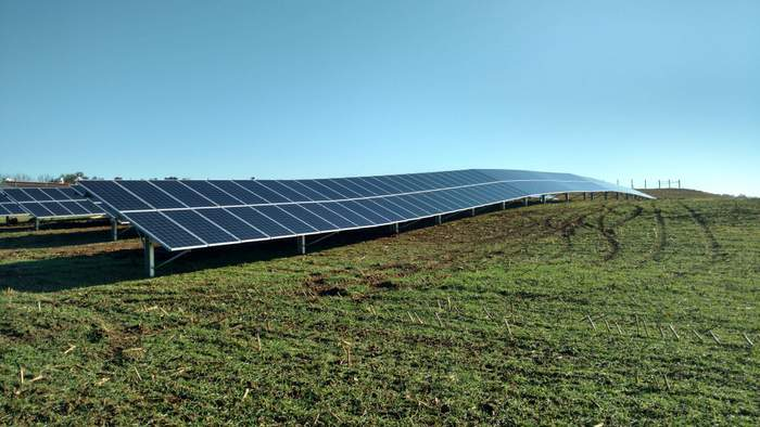 Get a first look at Origin OMCO Solar's new single-axis solar tracker at SPI 2019