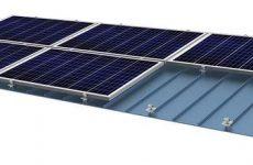 SunModo debuts SunDock Standing Seam Rail-Free solar mounting System