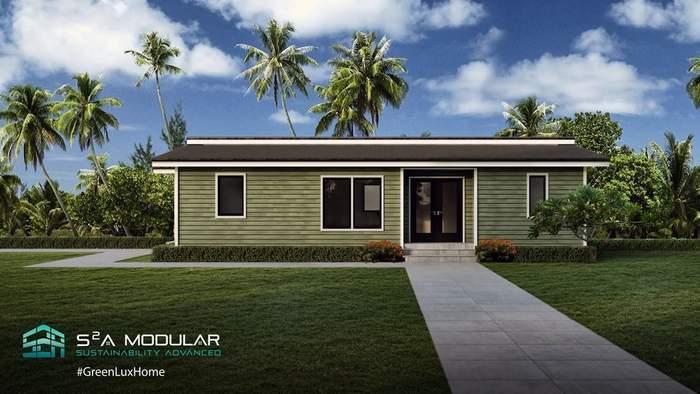 Tesla-Model s2a modular home