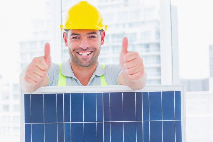 solar worker success