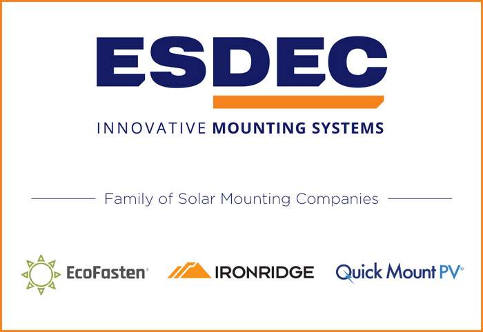 Mount-opoly? Esdec acquires IronRidge and Quick Mount PV to form the