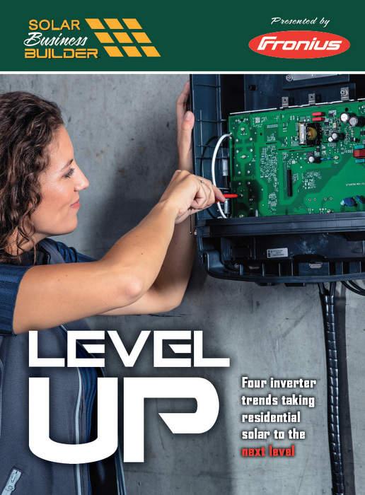 Level up fronius report