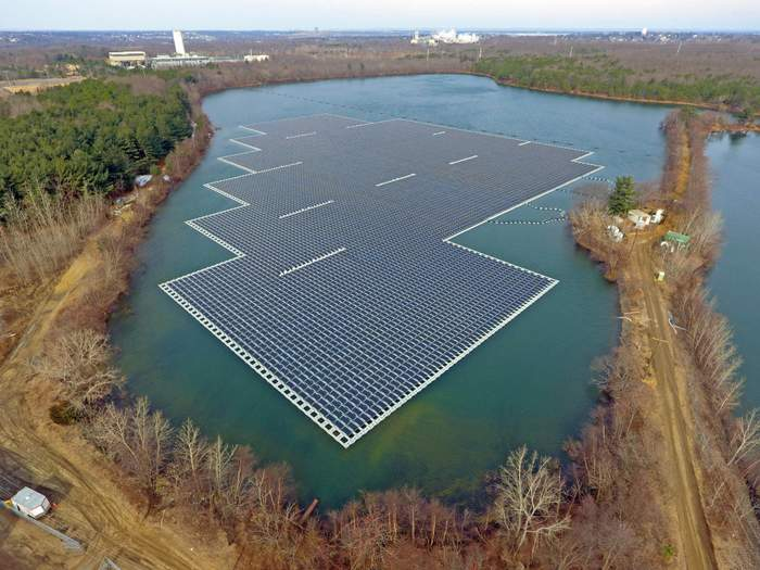 Ciet Terre floating solar