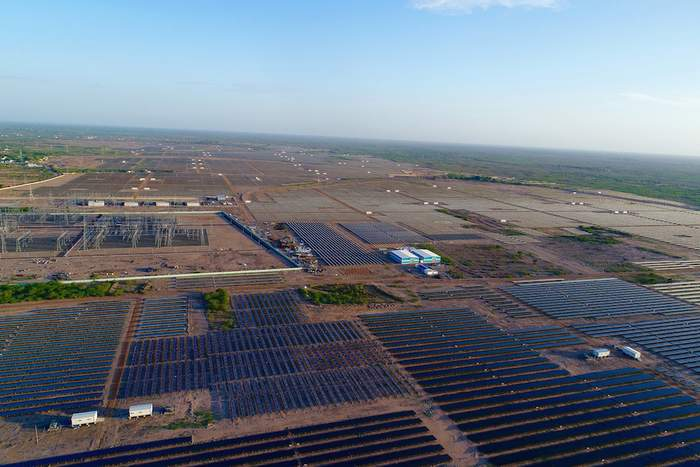 SenseHawk says it benchmarked the condition of this 780-MW solar site in