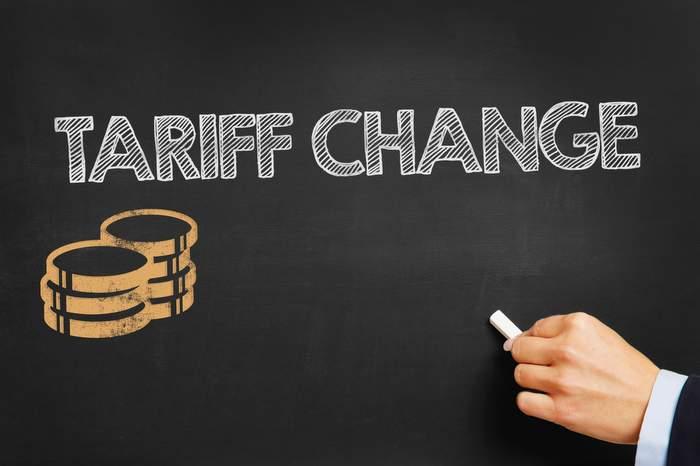 Tariff Change