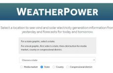 WeatherPower tool can divide its solar electricity production estimates by Congressional district