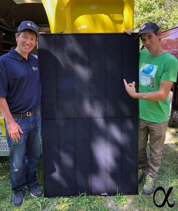 REC low income solar partnership