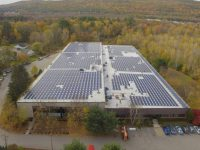 Filtrine Manufacturing expands solar system from 2013 to cover full electricity needs
