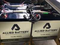 Allied explains how its lithium batteries can be used to replace lead-acid battery based storage systems