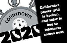 Countdown to 2020, part VI: Time's Up, California