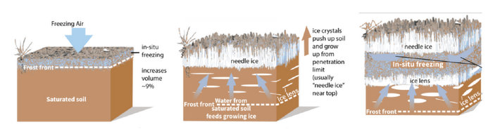 effect of frost on soil