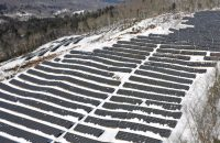 What is frost heave and how does it affect ground-mount solar projects?