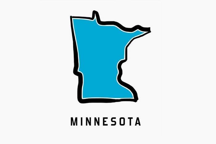 Minnesota map outline