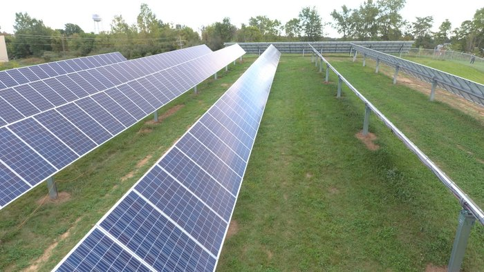 OMCO solar tracker pierceton