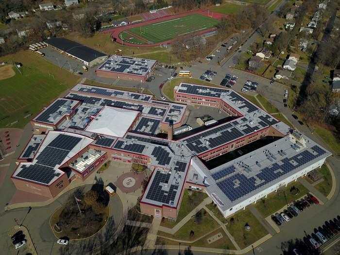 solar landscape school project