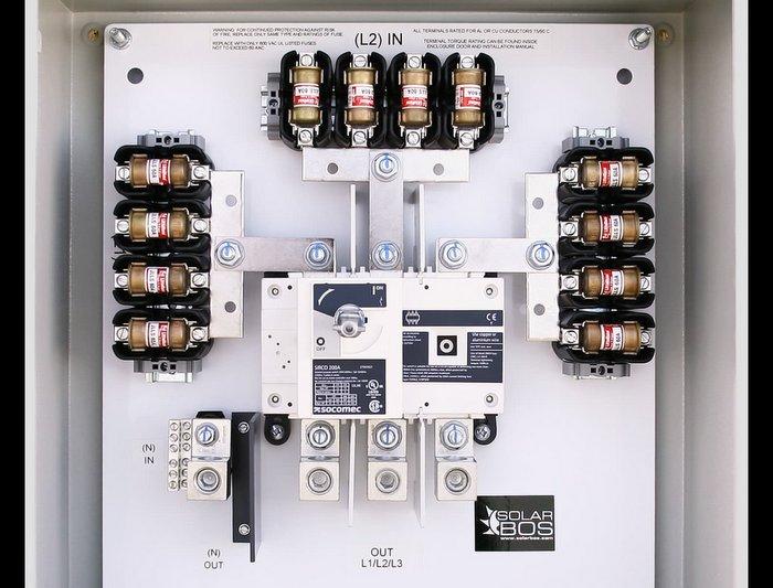 SolarBOS AC Combiner