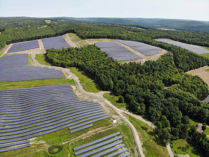 Spencer community solar farms