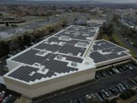 Solar Landscape Valcor Engineering project in Springfield N.J.