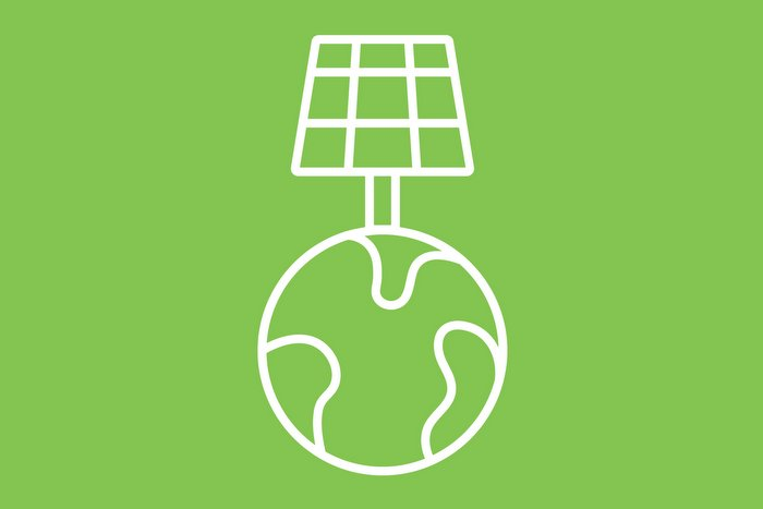 Earth, solar, energy icon