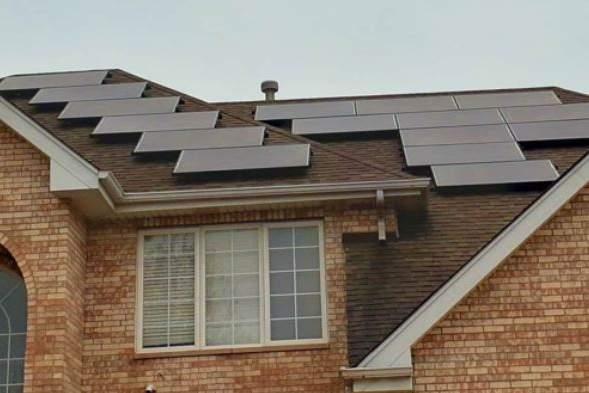 headline solar install