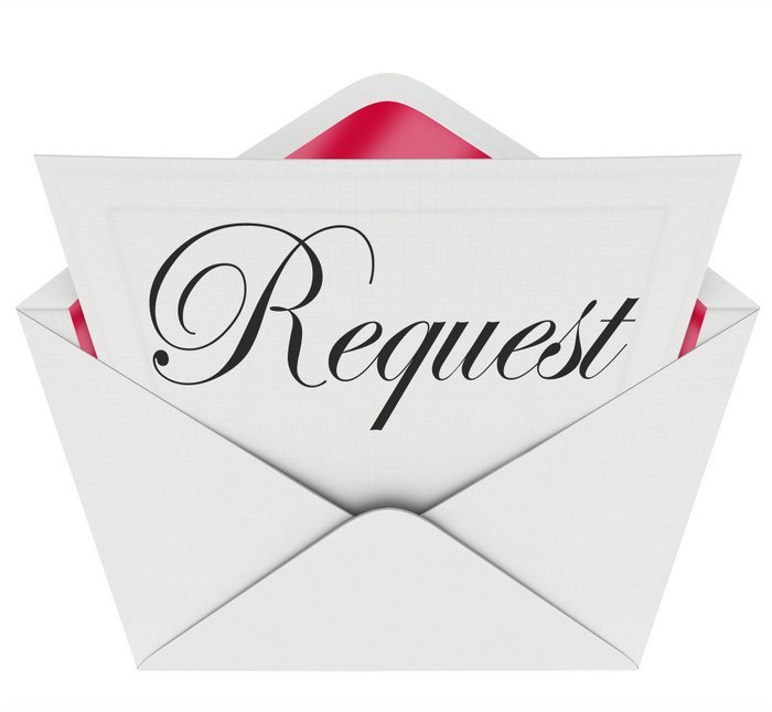 formal request for rehearing