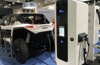 Power Electdronics showcased a new EV charger solution at this year's Intersolar.