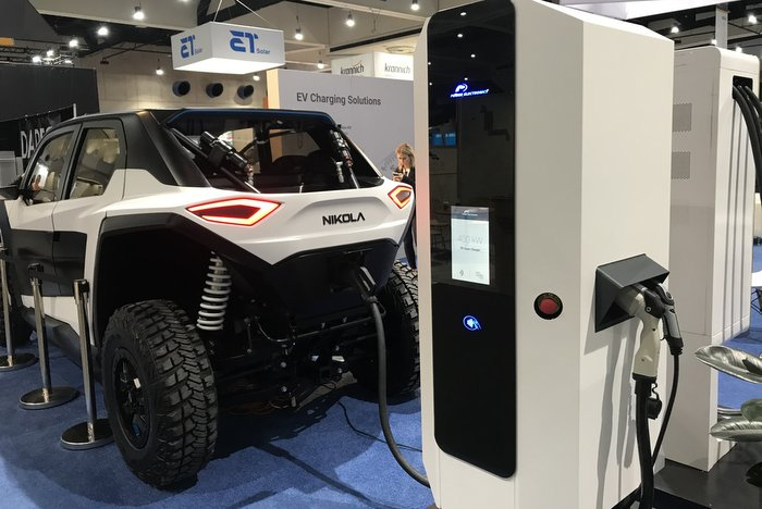 Power Electdronics' New EV Charger