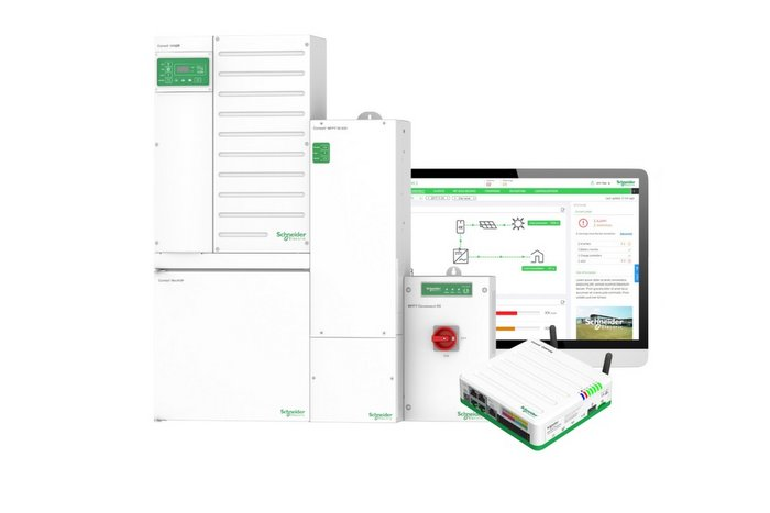Schneider Electric hybrid inverter
