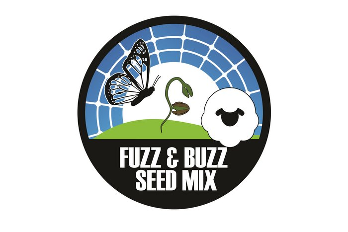 fuzz and fuzz solar pasture seed mix logo