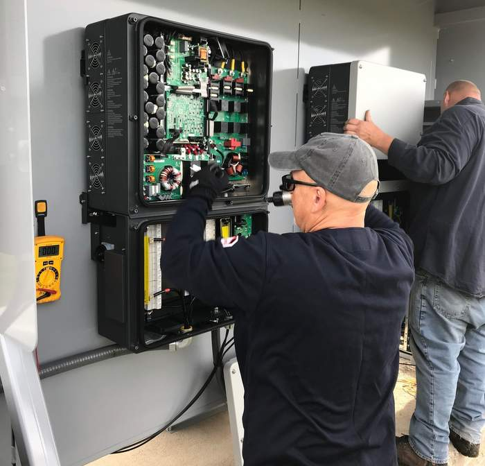 CPS inverter training