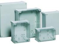Specs for a new line of NEMA 4X, non-metallic enclosures from Fibox