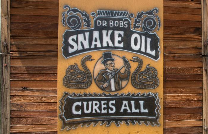snake oil sales