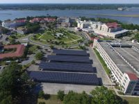 HSGS builds solar canopies at Biloxi VA Medical Center