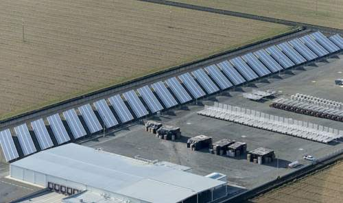Kern Solar project