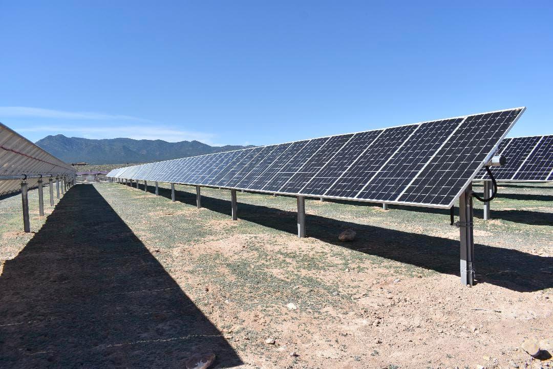 Kit Carson solar array