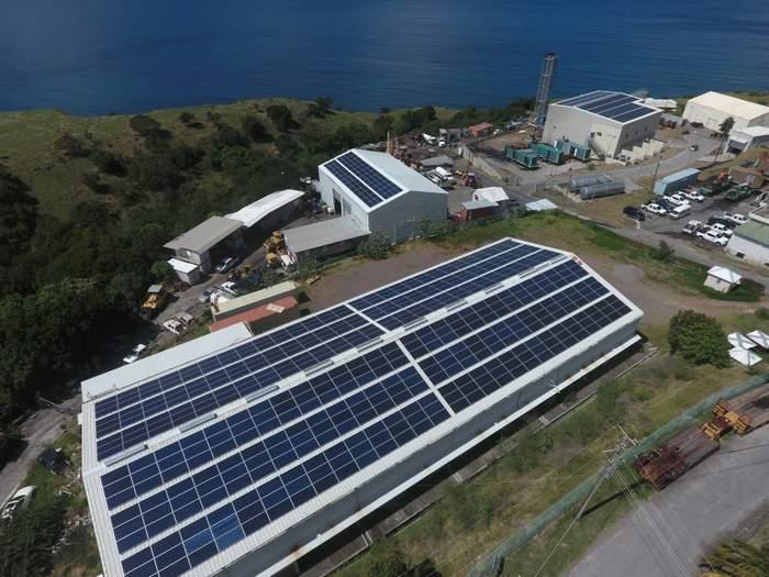 Montserrat solar roof