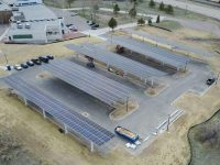 Pivot Energy finishes 431-kW solar carport at Colorado's Intermountain Rural Electric Association
