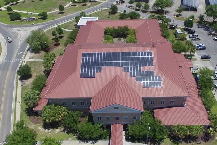 VA solar carport