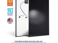 Q CELLS partners with Enphase on AC version of Q.PEAK DUO BLK-G6+ solar module