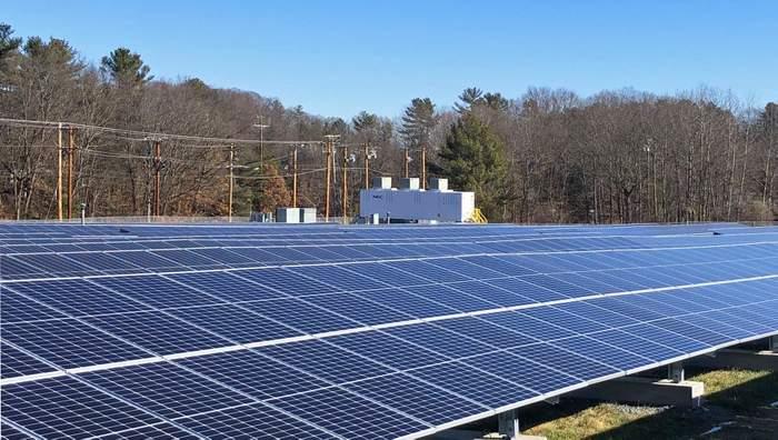 CS Energy Installs Amesbury Solar+Storage Landfill Project