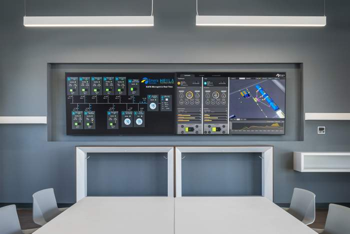 Emera Technologies' Gathering Space at KAFB.