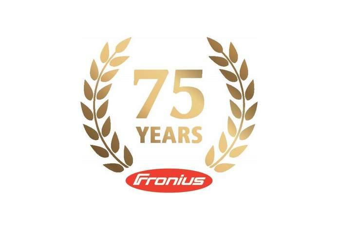 Fronius 75th