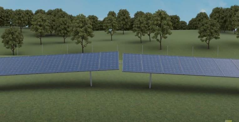RBI solar tracker screen shot