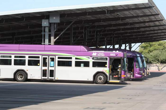 Standard Solar bus project