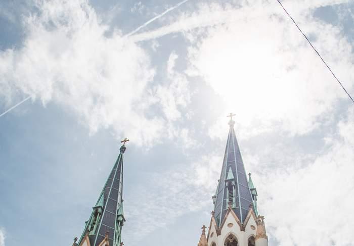 church sun